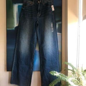 Gap wide legged jeans